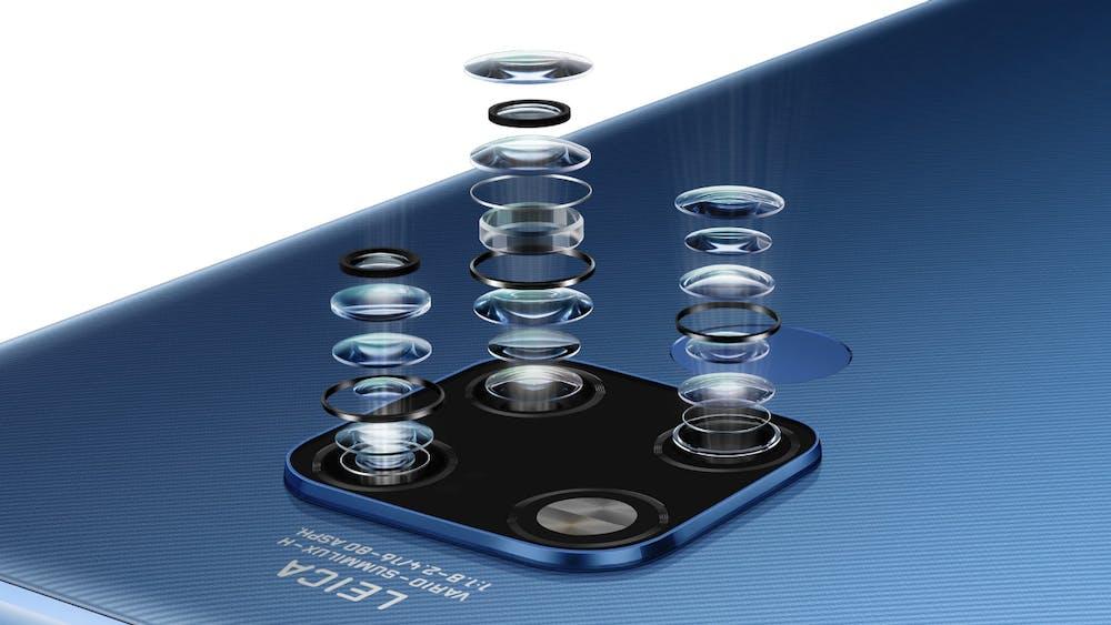 Das Huawei Mate 20 X besitzt die gleiche TripleCam wie das Pro-Modell. (Bild: Huawei)
