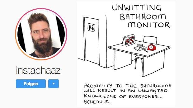 7 Sitzplätze im Büro: Ein Instagrammer sagt, was sie für dich bedeuten
