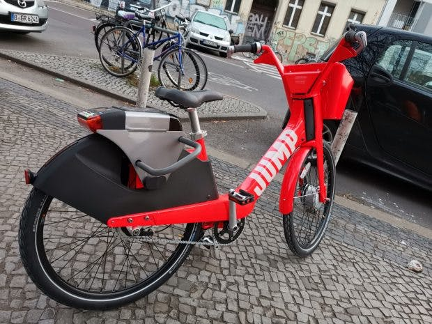 Uber-Tochter Jump Bikes stellt E-Fahrräder in Berlin auf