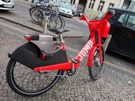 In Berlin stehen seit Ende November die ersten Jump Bikes von Uber. (Foto: t3n.de)