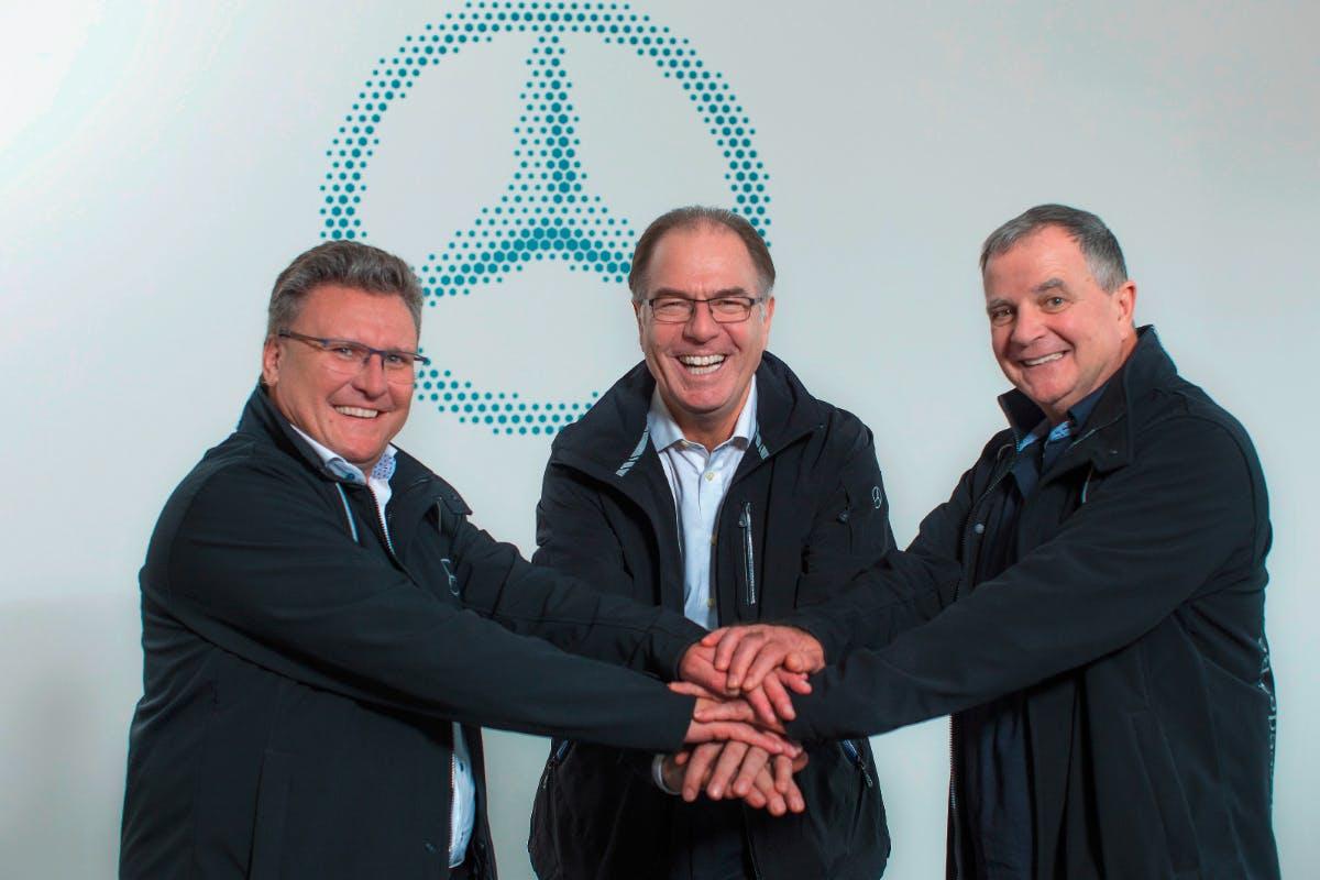Mercedes-Benz montiert Antriebsmodule für Elektroautos in Berlin
