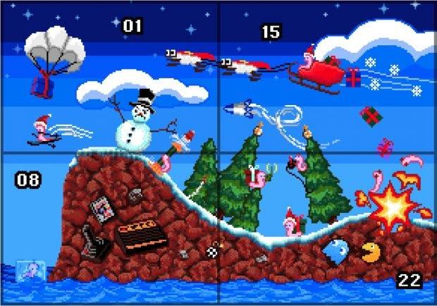 Retro-Adventskalender von Pixelnostalgie