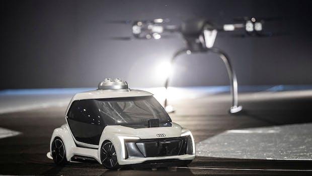 Pop.Up Next: Modulares Mobilitätskonzept von Audi und Airbus. (Foto: Audi)