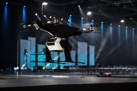 """""""Pop.Up Next"""": Modulares Mobilitäts-Konzept von Audi und Airbus. (Foto: Audi)"""