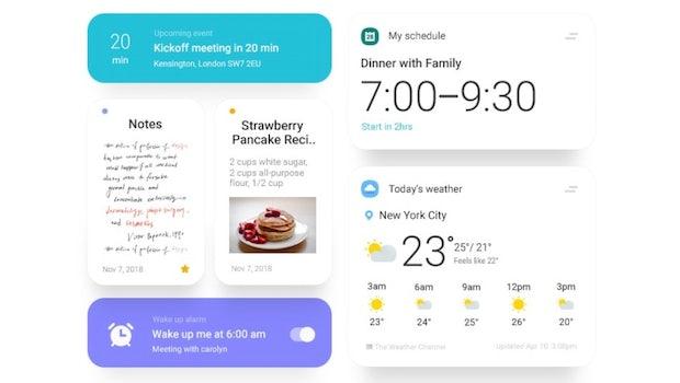 Samsungs One UI soll auf Minimalismus ausgelegt sein. (Bild: Samsung)