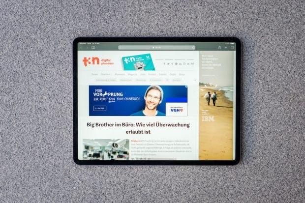 Das iPad Pro mit 12,9 Zoll. (Foto: t3n.de)