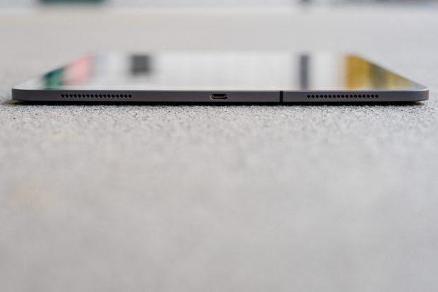 Der USB-C-Anschluss des iPad Pro 12,9. (Foto: t3n)
