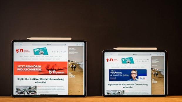 So gut lässt es sich mit dem neuen iPad Pro arbeiten