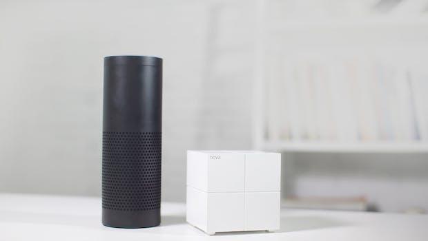 Tenda Nova versteht sich auch mit Alexa. (Foto: Tenda)