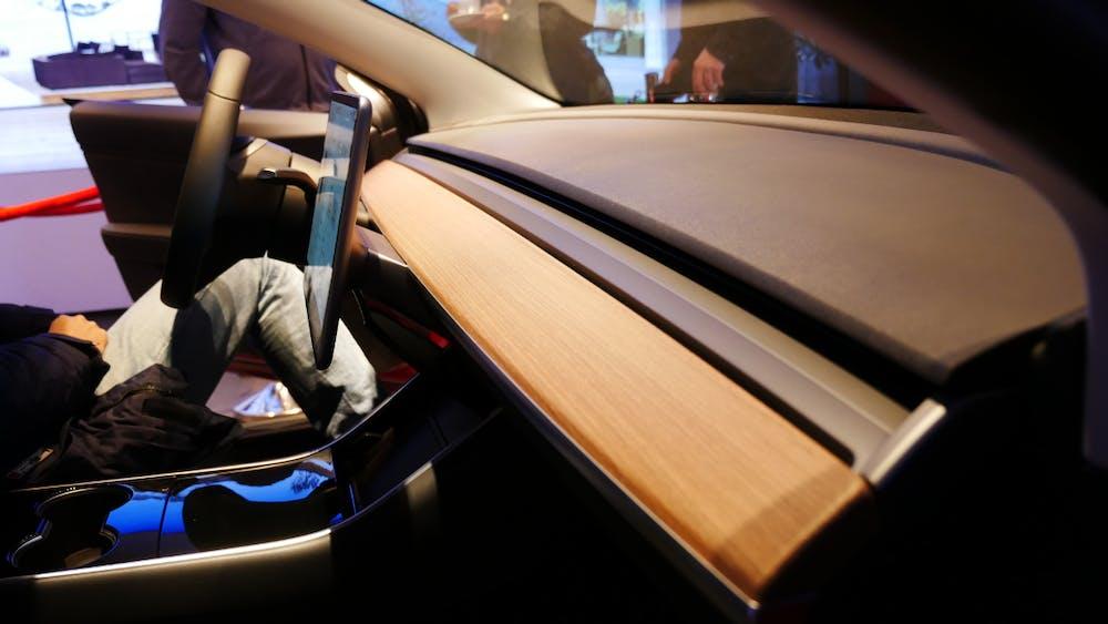 Tesla Model 3 von innen. (Foto: t3n.de)