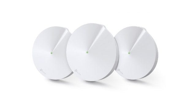 Der TP-Link Deco M9 Plus dient auch als Smart-Home-Hub. (Bild. TP-Link)