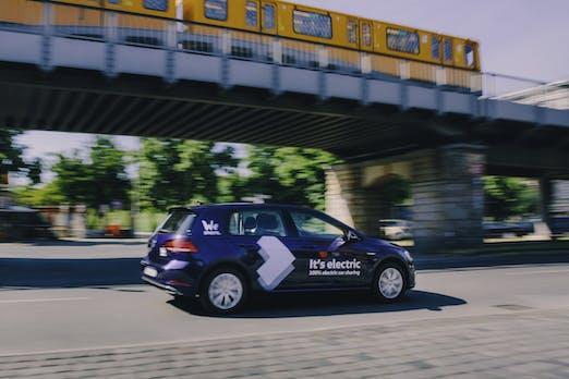 We Share Volkswagen Startet Mit Elektroauto Carsharing In Berlin