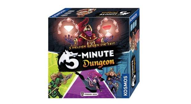 Geschenktipp für Spiele-Nerds: 5 Minute Dungeon. (Screenshot: kosmos.de / t3n)