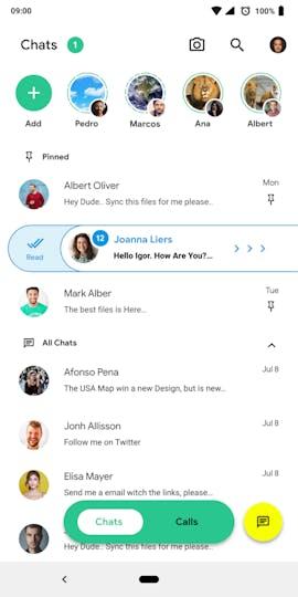 Verschiedene Swipe-Gesten sorgen für schnelle Aktionen. (Grafik: behance.net/Igor S.)