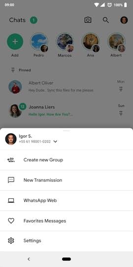 Erweiterte Nutzereinstellungen als Popup. (Grafik: behance.net/Igor S.)
