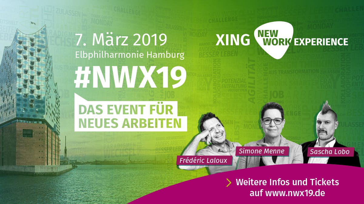 XING New Work Experience: Das New-Work-Event in der Elphi