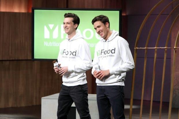 Noel Bollmann (l.) und Benjamin Kremer von Y-Food (Foto MG RTL D)