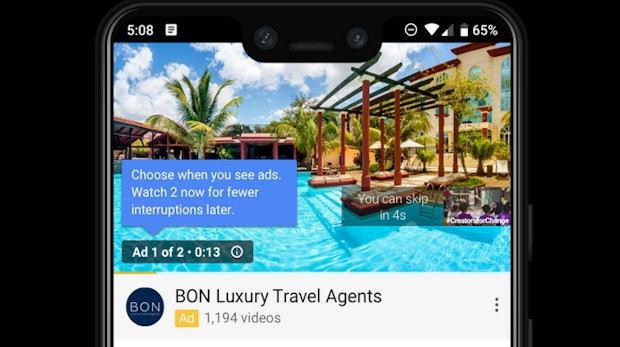 Youtube: Werbespots sollen im Doppelpack gezeigt werden