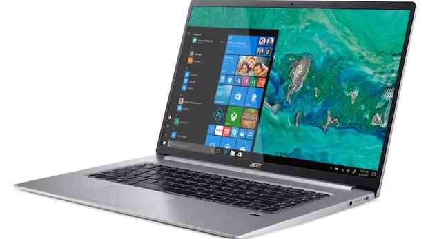 Acer bringt mit dem Swift 5 das leichteste 15-Zoll-Notebook der Welt auf den Markt