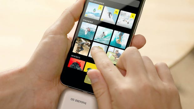 Auch auf dem Smartphone kannst du deiner Kreativität freien Lauf lassen. (Foto: hardwrk)