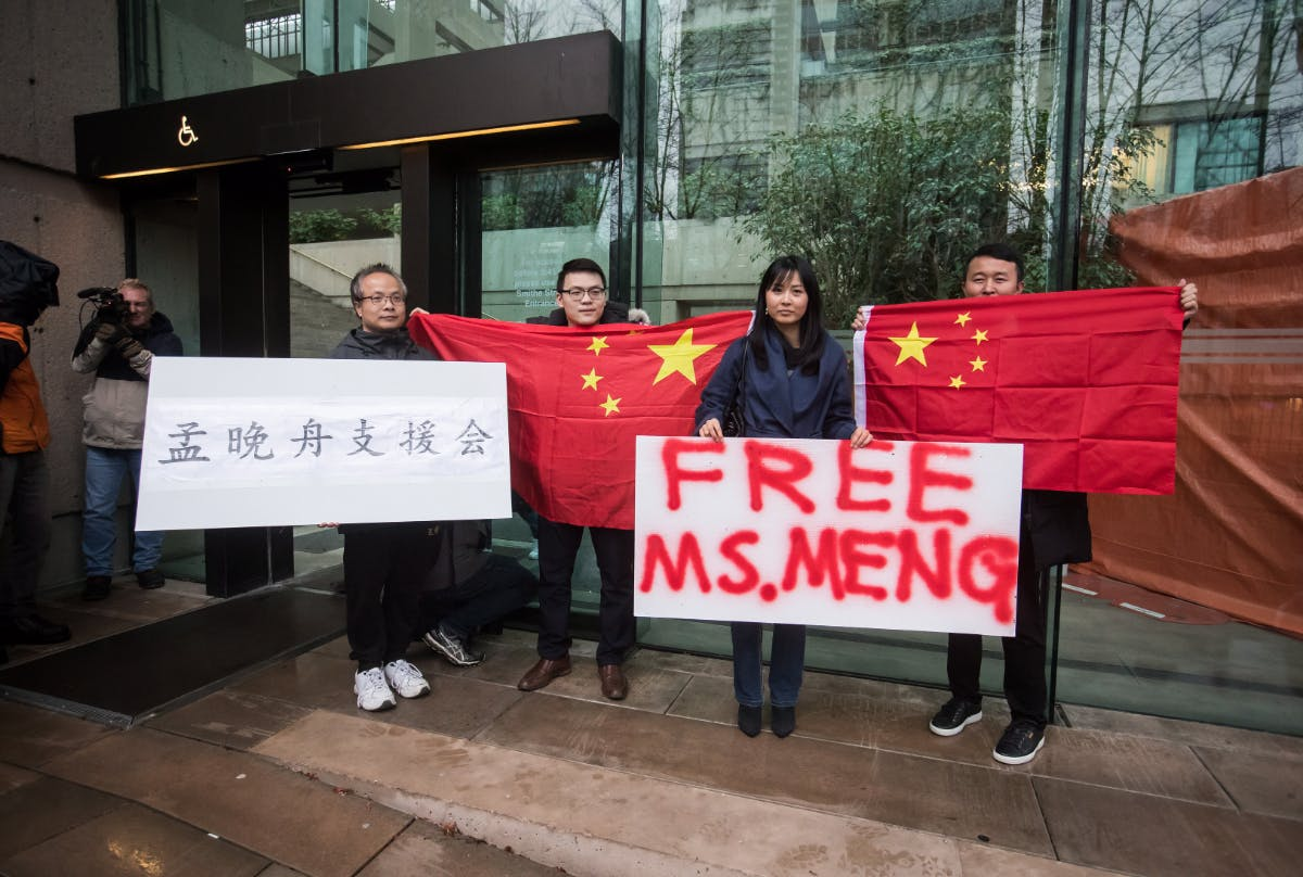 Huawei-Finanzchefin kommt gegen eine Kaution frei – wird Trump intervenieren?
