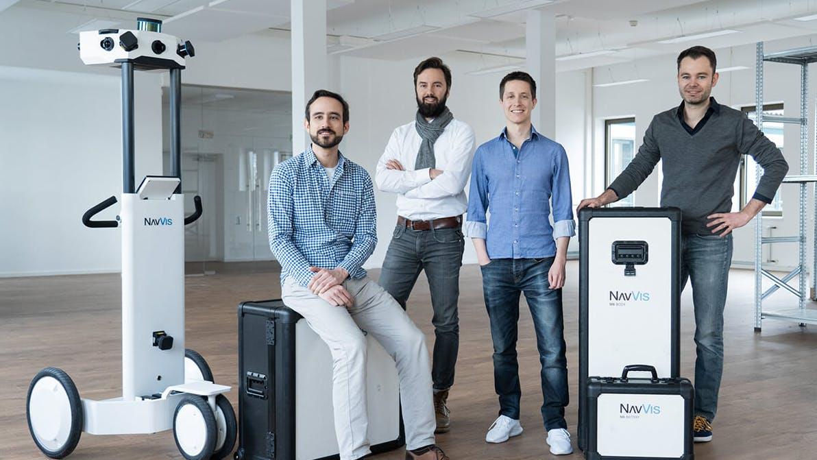 Indoor-Mapping: Münchner Startup Navvis sammelt 31 Millionen Euro ein