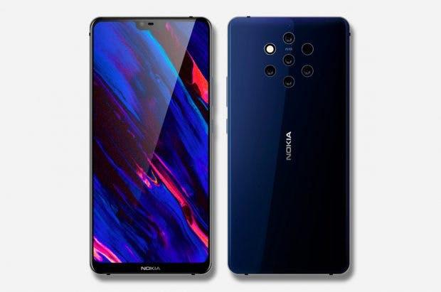 """Ein Nokia 9 wird wohl erst 2019 erscheinen. (Renderbild: <a href=""""https://twitter.com/VenyaGeskin1/status/1037797173327540228"""">Ben Geskin</a>)"""