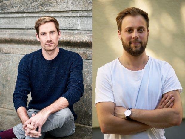 Die Gesprächspartner im Podcast: Philip Husemann (links) und Ilan Siebert. (Fotos: Saskia Uppenkamp (links), Raphael Janzer)
