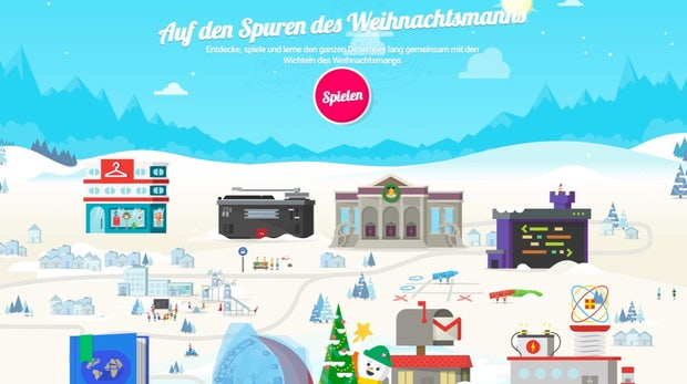 Santa-Tracker: Google bringt interaktiven Adventskalender zurück