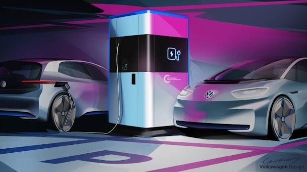"""Schnellladen in nur 17 Minuten – VW kündigt eine """"Powerbank"""" fürs E-Auto an"""