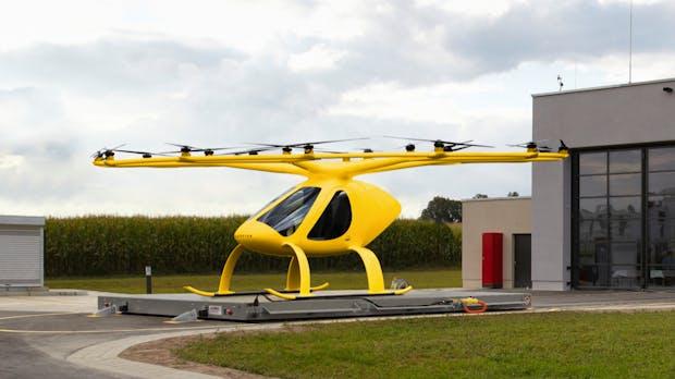 Der ADAC testet den Einsatz von Volocoptern zur Luftrettung