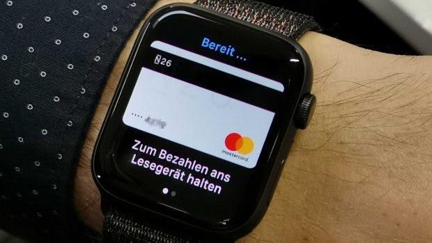 Im Handumdrehen mit Apple Pay zahlen – per Apple Watch. (Foto: t3n.de)