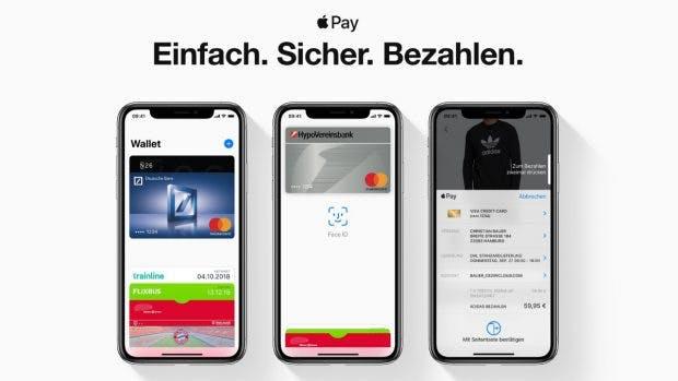 Apple Pay endlich offiziell in Deutschland nutzbar. (Bild: Apple)