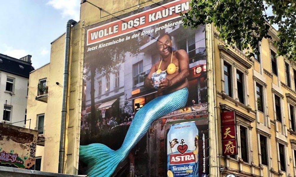 Astra-Werbung: Wolle Dose kaufen