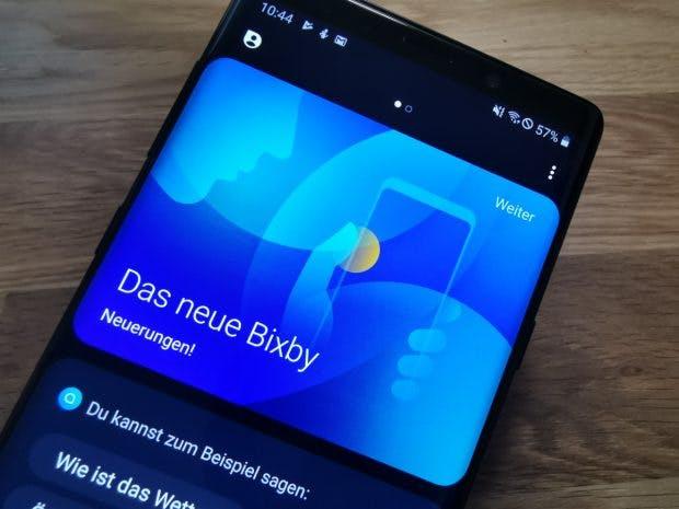 Hi, Bixby! Samsungs Sprachassistent versteht jetzt auch Deutsch. (Foto: t3n.de)