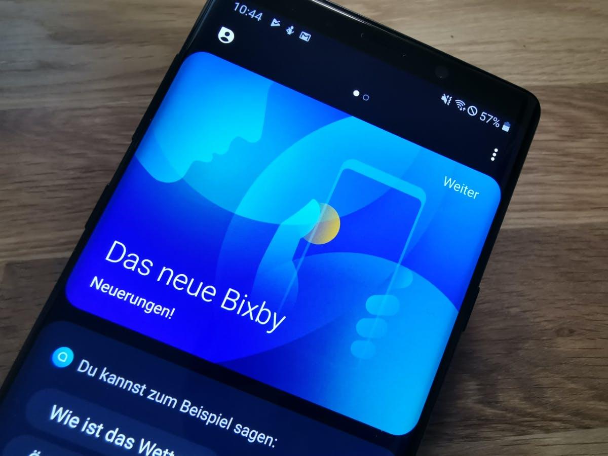 Sprachassistent: Samsungs Bixby spricht jetzt ganz offiziell auch Deutsch