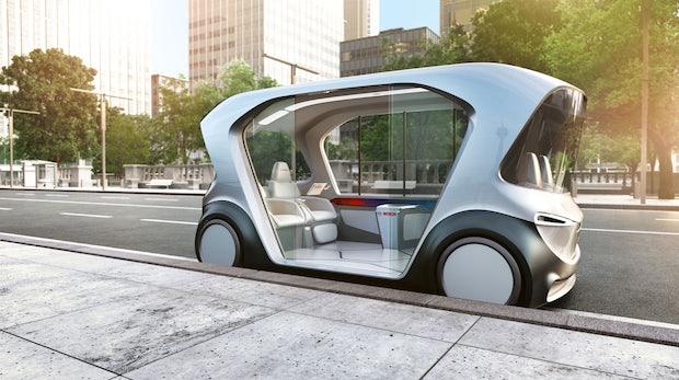 Mobilität der Zukunft – Bosch zeigt eigenes autonomes E-Shuttle