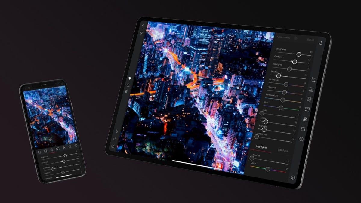 Neue Version der Foto-Bearbeitung mit iPad-Unterstützung ist da: Darkroom 4