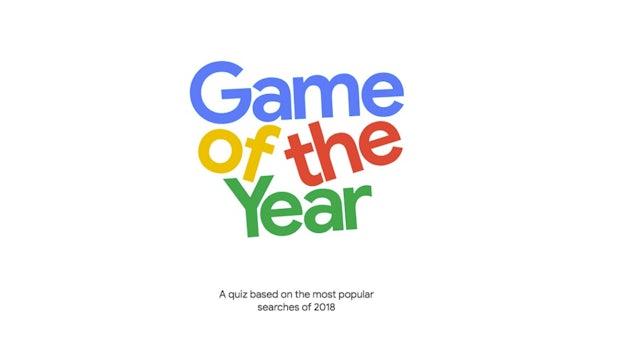 Googles Game of the year: Testet euer Wissen zu den Suchtrends 2018