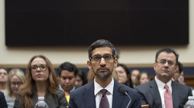 Die Befragung des Google-CEO war vor allem eines: Zeitverschwendung