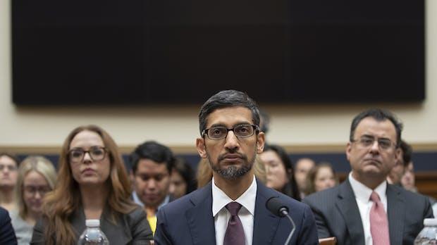 Trump-Attacke auf Sundar Pichai: Google unter massivem Beschuss von US-Konservativen
