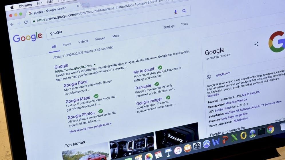 Google: Pro SERP nur noch 2 Such-Ergebnisse von einer Website
