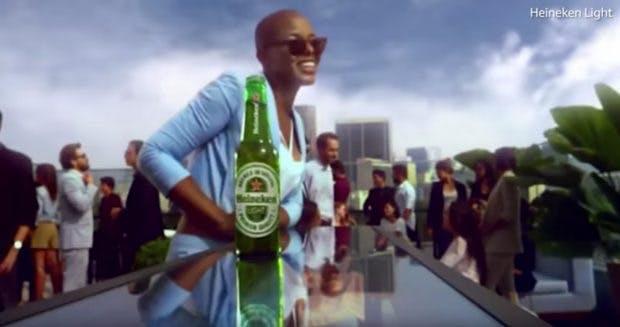 Heineken-Werbung: Lighter is better