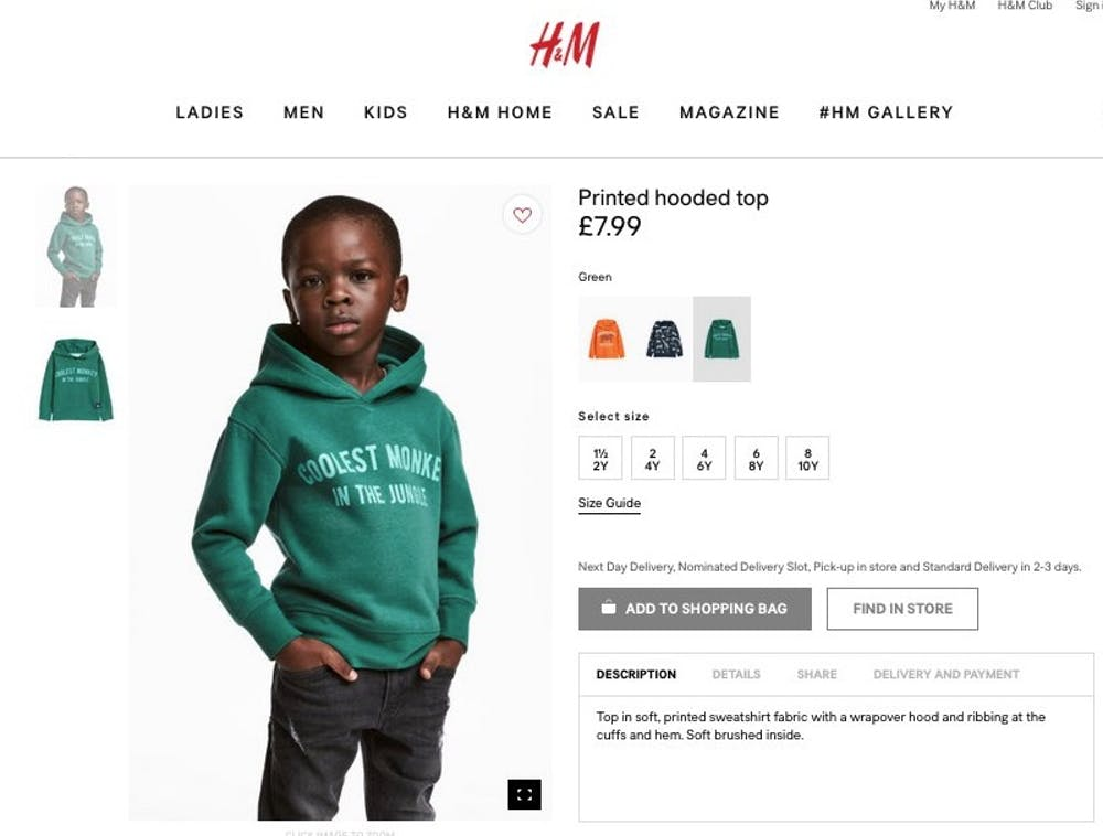 H&M-Werbung: Coolest Monkey in the jungle