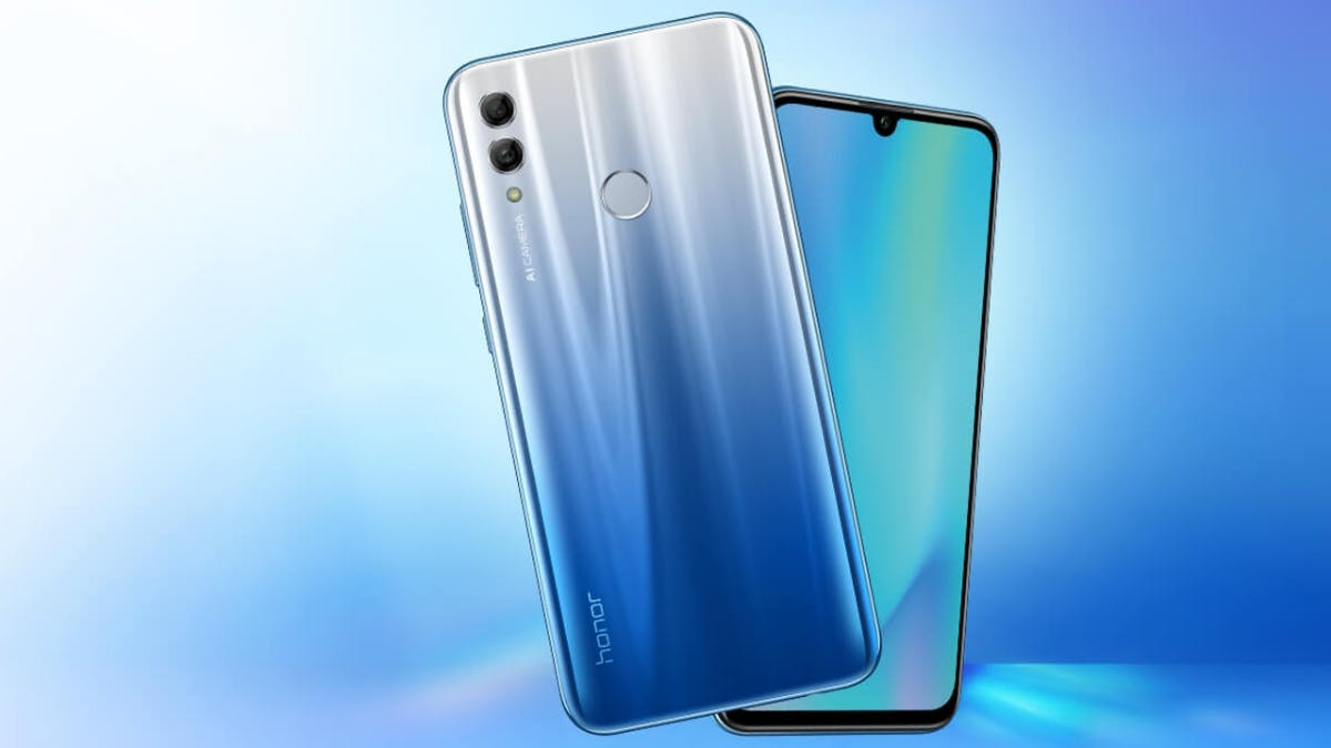 Honor 10 Lite: Neues Budget-Smartphone mit Display-to-Body-Ratio von 90 Prozent