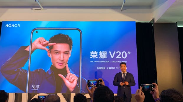 Honor View 20 mit Loch im Display: High-End-Smartphone kommt ohne Notch