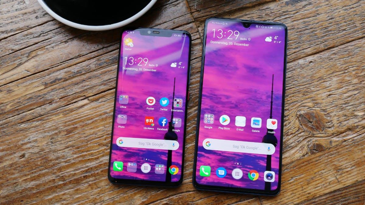 Huawei Mate 20 X: High-End-Klopper mit Riesen-Display im Vergleich mit dem 20 Pro