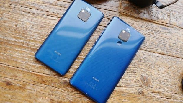 6,4-Zoll vs. 7,2 Zoll: Huawei Mate 20 Pro neben dem Mate 20 X. (Foto: t3n.de)