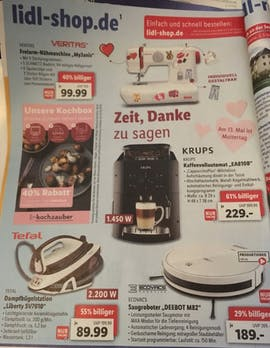 Lidl-Werbung zum Muttertag