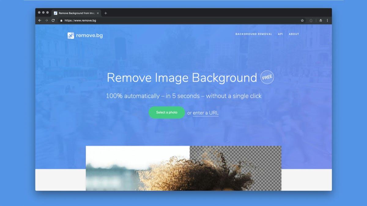 Hintergrund online kostenlos entfernen